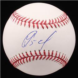 Yoenis Cespedes Signed OML Baseball (JSA COA)
