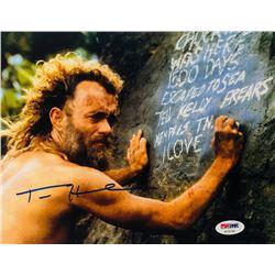 "Tom Hanks Signed ""Cast Away"" 8x10 Photo (PSA COA)"