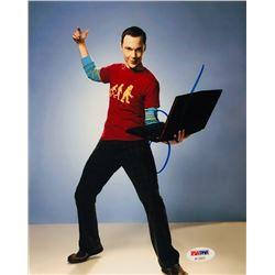 "Jim Parsons Signed ""The Big Bang Theory"" 8x10 Photo (PSA COA)"