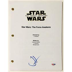 """J.J. Abrams Signed """"Star Wars: The Force Awakens"""" Full Movie Script (PSA COA)"""