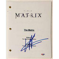 "Keanu Reeves Signed ""The Matrix"" Full Movie Script (PSA COA)"