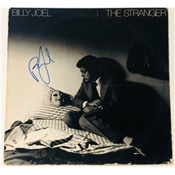"""Billy Joel Signed """"The Stranger"""" Vinyl Record Album (PSA COA)"""