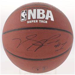 Derrick Rose Signed NBA Basketball (JSA COA)