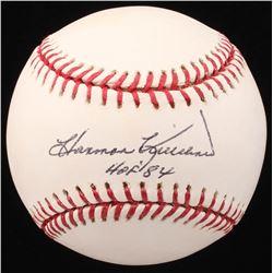 """Harmon Killebrew Signed OML Baseball Inscribed """"HOF '84"""" (JSA COA)"""