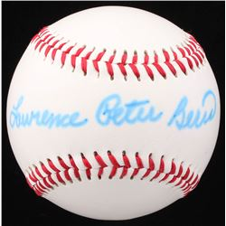 "Lawrence ""Yogi"" Peter Berra Signed Baden Baseball (JSA COA)"