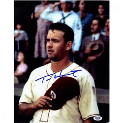 """Tom Hanks Signed """"A League of Their Own"""" 11x14 Photo (PSA)"""