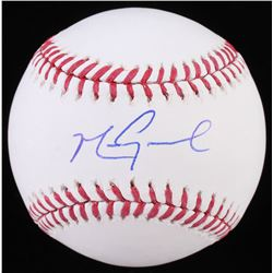 Mark Grace Signed OML Baseball (JSA COA)