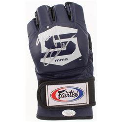 Fedor Emelianenko Signed Fairtex MMA Glove (JSA COA)