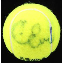 Chris Evert Signed Slazenger Wimbledon Tennis Ball (PSA LOA)