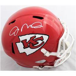 Joe Montana Signed Kansas City Chiefs Full-Size Speed Helmet (JSA COA)