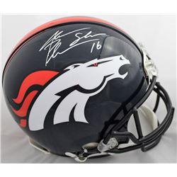 Jake Plummer Signed Denver Broncos Authentic On-Field Full-Size Helmet (Beckett COA)