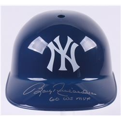 "Bobby Richardson Signed New York Yankees Full-Size Replica Batting Helmet Inscribed ""60 WS MVP"" (JSA"