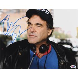 Oliver Stone Signed 11x14 Photo (PSA COA)