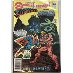 1982 DC Superman and the Masters #47 Comic Book