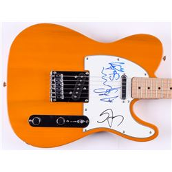 Sting, Stewart Copeland  Andy Summers Signed Fender Squier Bullet Electric Guitar (JSA LOA)
