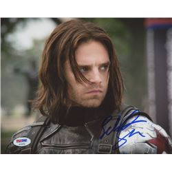 "Sebastian Stan Signed ""Captain America: Civil War"" 8x10 Photo (PSA COA)"