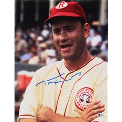 "Tom Hanks Signed ""A League of Their Own"" 11x14 Photo (Beckett COA)"