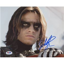 "Sebastian Stan Signed ""Captain America: The Winter Soldier"" 8x10 Photo (PSA COA)"
