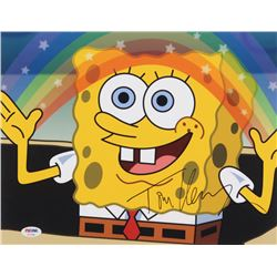 "Tom Kenny Signed ""SpongeBob SquarePants"" 11x14 Photo (PSA COA)"