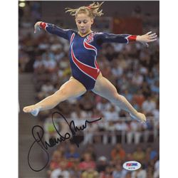 Shawn Johnson Signed 8x10 Photo (PSA COA)