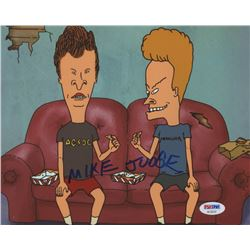 "Mike Judge Signed ""Beavis and Butt-Head"" 8x10 Photo (PSA COA)"