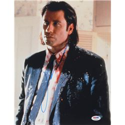 "John Travolta Signed ""Pulp Fiction"" 11x14 Photo (PSA COA)"