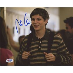 Michael Cera Signed 8x10 Photo (PSA COA)