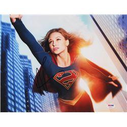 "Melissa Benoist Signed ""Supergirl"" 11x14 Photo (PSA COA)"