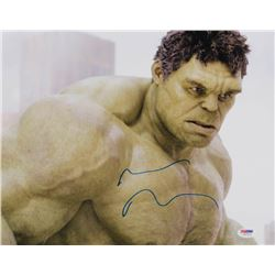 "Mark Ruffalo Signed ""The Avengers"" 11x14 Photo (PSA COA)"