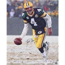 Brett Favre Signed Green Bay Packers 16x20 Photo (Favre COA)