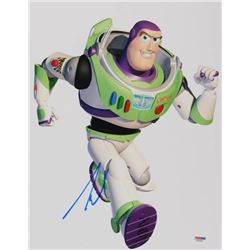 "Tim Allen Signed ""Toy Story"" 11x14 Photo (PSA COA)"