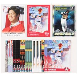 Lot of (20) Shohei Ohtani RC Baseball Cards