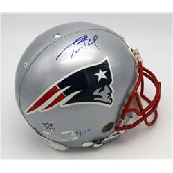 Tom Brady Signed New England Patriots Limited Edition Super Bowl XXXIX Full-Size On-Field Helmet (Tr