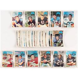 1970 Kellogs Near Complete Set of (54/60) Football Cards with #55 John Unitas, #51 Gale Sayers, #10