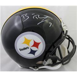 Ben Roethlisberger Signed Steelers Full-Size Authentic On-Field Helmet (Fanatics Hologram)