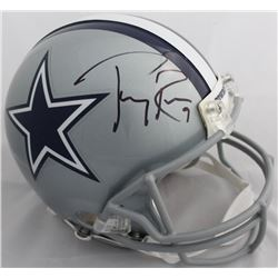 Tony Romo Signed Dallas Cowboys Full-Size Authentic On-Field Helmet (Beckett COA)