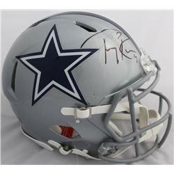 Tony Romo Signed Dallas Cowboys Full-Size Authentic On-Field Speed Helmet (Beckett COA)