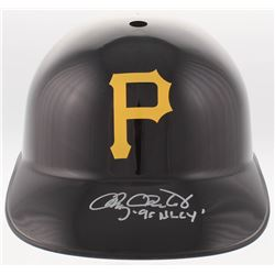"Doug Drabek Signed Pittsburgh Pirates Full-Size Replica Batting Helmet Inscribed ""90 NL CY"" (TriStar"