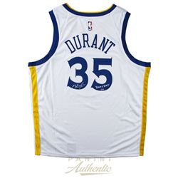 "Kevin Durant Signed LE Golden State Warriors Nike Jersey Inscribed ""Back2Back"" (Panini COA)"