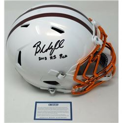 Baker Mayfield Signed LE Cleveland Browns Custom White Full-Size Authentic On-Field Speed Helmet Ins