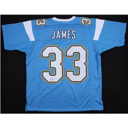 Derwin James Signed Los Angeles Chargers Jersey (PSA COA)