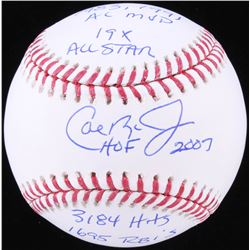 Cal Ripken Jr. Signed OML Baseball with (5) Inscriptions (JSA COA)