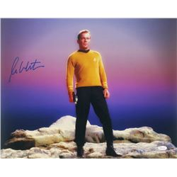 "William Shatner Signed ""Star Trek"" 16x20 Photo (JSA COA)"
