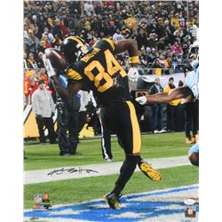 Antonio Brown Signed Pittsburgh Steelers 16x20 Photo (JSA COA)