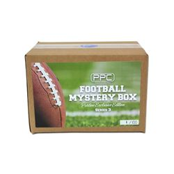 Press Pass Collectibles Football Box - Pristine Exclusive Signed Football Mystery Box (Series 3)