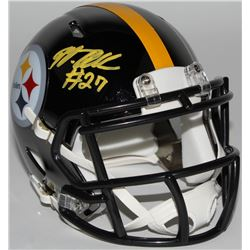Marcus Allen Signed Pittsburgh Steelers Chrome Speed Mini-Helmet (JSA COA)