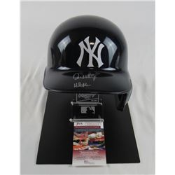 Don Mattingly Signed New York Yankees Authentic Full-Size Batting Helmet (JSA COA)