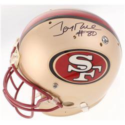 Jerry Rice Signed San Francisco 49ers Full-Size Helmet (PSA COA)
