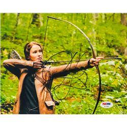 "Jennifer Lawrence Signed ""The Hunger Games"" 8x10 Photo (PSA COA)"
