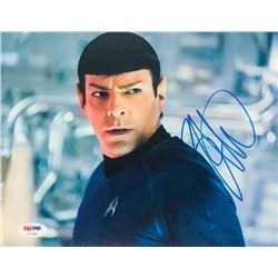 """Zachary Quinto Signed """"Star Trek"""" 8x10 Photo (PSA COA)"""
